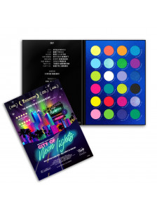 ESTUCHE SOMBRAS NEON LIGHTS RC