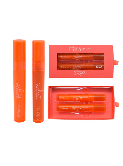 LIPGLOSS NEON SET DARE BRIGHT ORANGE BC