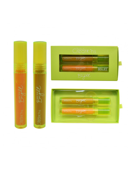 LIPGLOSS NEON SET DARE BRIGHT YELLOW BC